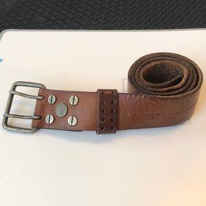 Men's Leather belt NWT